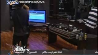 مقاطع من حفل الدى جى الثانى 4 - ستار اكاديمى 7