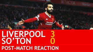 SALAH IS KING OF THE WORLD! Liverpool v Southampton 3-0 Post-Match Fan Reaction