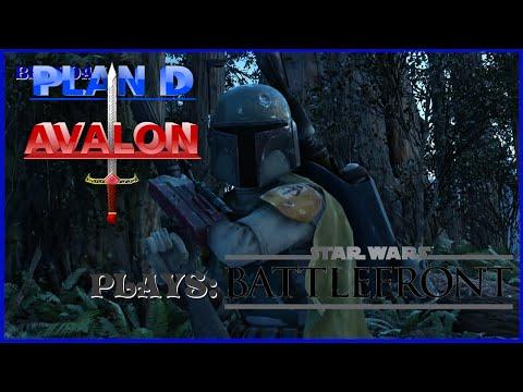 Friendly Butt Shot - Plan D Avalon Plays Star Wars Battlefront Part 2