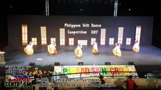 Waway (Silay City) - Philippine Folk Dance Competition 2017