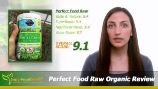 Garden of Life, Perfect Food Raw Organic Superfood Review - SuperFoodDrinks.org