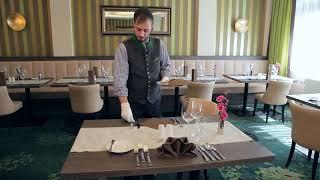 Johannesbad Hotels - Tisch eindecken wie ein Profi