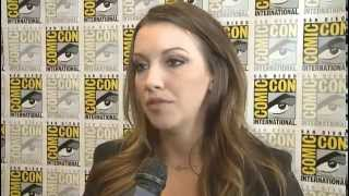 Comic Con 2012 - Katie Cassidy:  Will Black Canary Joint the Fight?