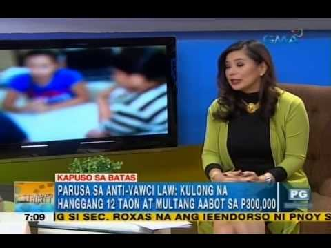 What are the punishments for violating the Anti-Voyeurism Act? | Unang Hirit