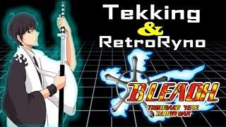 Tekking101 & Retro Ryno LIVE: Fan Animated Bleach Intro!