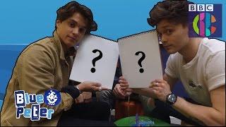 The Vamps Portrait Challenge | CBBC