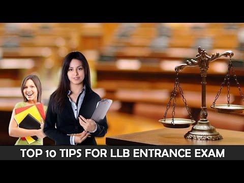 Top 10 LLB Entrance Exam Preparation Tips