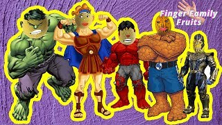 Wrong Heads Strong Heroes Finger Family Song  Animation for Kids