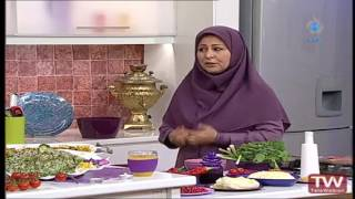 آموزش آشپزی آسان  دلمه کلم با سس انار بخش اول