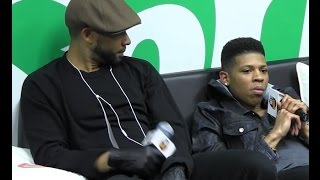 Jussie Smollett  Yazz with Kendra G In the Sprite Lounge Video