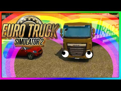 Euro Truck Simulator 2 Crashes, Fails, and other Funny Moments Gameplay!
