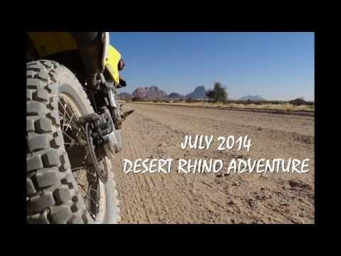 NAMIBIA DESERT RHINO ADVENTURE JULY 2014