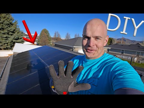 Do It Yourself Solar Power Easy DIY Solar Panel Installation