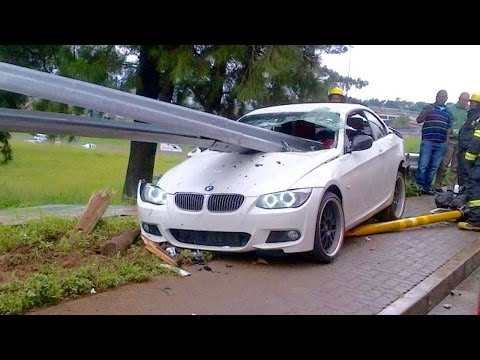 Stupid BMW Drivers Compilation 2017