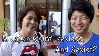 Is Japan Weird, Sexless, Sexist? (Japanese Stereotype Interview)