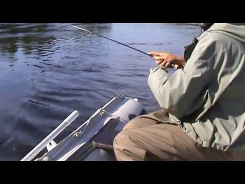 ловля тайменя сплавом видео