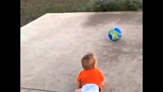 Micah and the ball