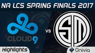 C9 vs TSM Highlights Game 5 NA LCS Spring Playoffs 2017 Cloud9 vs Team Solo Mid