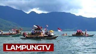 Ribuan Warga Tonton Gebyar Lombok Seminung, Lambar