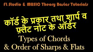 FLStudio: Easy Chord Theory (Types and order)- Hindi