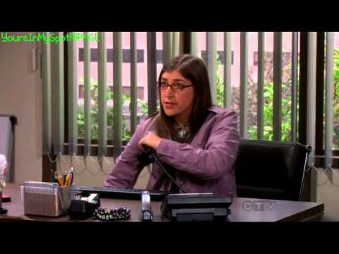 Amy Marks Her Territory The Big Bang Theory