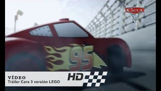 Cars 3 de Disney•Pixar | Tráiler Cars 3 versión LEGO | HD