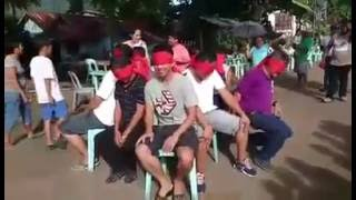 more fun in the Philippines - very funny parlor games -trip to jerusalem