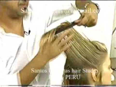 santos peluqueria cel 992018780 lince video tony and guy