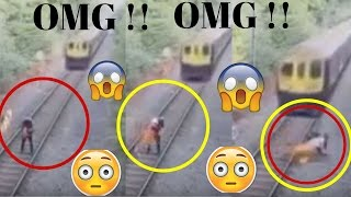 Is He Died? Train Accident Caught On Camera Cctv