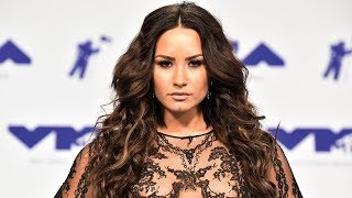 Demi Lovato Frees The Nipples With See-Through 2017 MTV VMAs Outfit