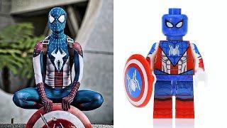 MORE LEGO SPIDERMAN - Minifigures VS Movies & Comics