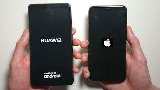Huawei Mate 10 vs iPhone X Speed Test & Camera Comparison!