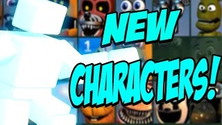 Five Nights at Freddys: PLAY AS SCOTT! CHIPPER ANNOUNCED! INSANE NEW Characters! Update 2!
