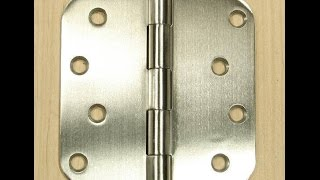 Stainless Steel Hinges - Security Hinge with Non Removable Pin