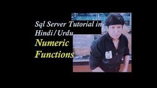 Numeric Functions in SQL Server Explain Hindi   Urdu