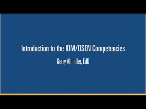 Xxx Mp4 2 Introduction To The QSEN Competencies Gerry Altmiller EdD 3gp Sex