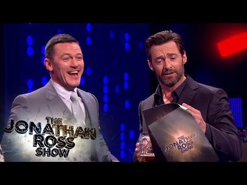 Luke Evans And Hugh Jackman s Gaston Sing Off The Jonathan Ross Show