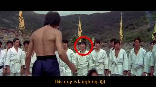 Bruce Lee Enter the Dragon Funny Mistake