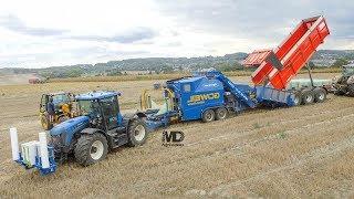 ????JCB Fastrac Blue | Goweil Variomaster | Enrubannage Maïs épis | Agri-Sovet