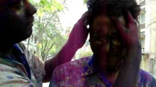 How to make color on others - Holi hai