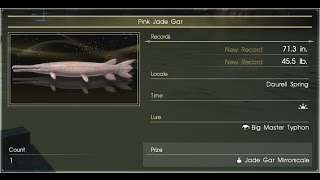 final fantasy 15 how to catch vesper gar