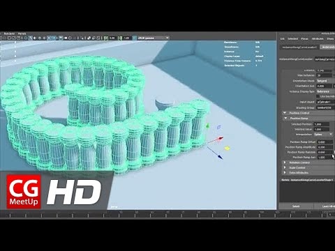 Xxx Mp4 CGI Free Download Instance Along Curve Autodesk Maya Plugin By Mariano Merchante 3gp Sex