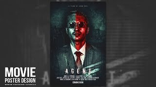 Make Creative Movie Poster With Dark and Red Tone in Photoshop CC