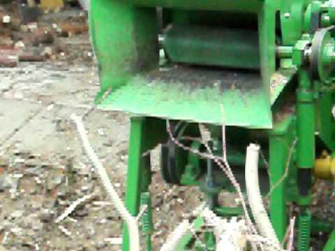 rębak do gałęzi prototyp samoróbka