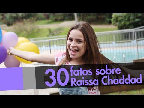 30 FATOS SOBRE MIM Raissa Chaddad