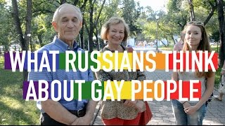 What Russians Think About Gay People