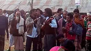 BANGLA FOLK SONG , EMOTIONAL SONG BY A STREET SINGER