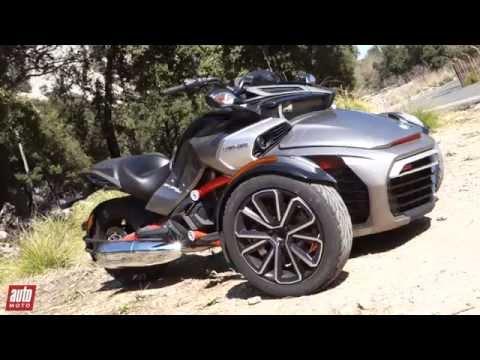 2015 BRP Can Am SPYDER F3 Essai AutoMoto
