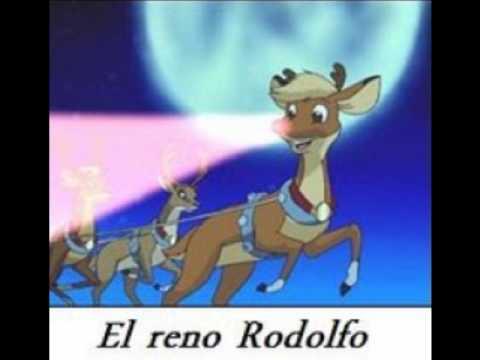 el reno de la nariz roja