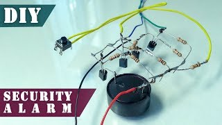 How to Make DIY Security Alarm Device with a Reset Button | DIY Project
